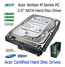 """250GB Acer Veriton M410 3.5"""" SATA Hard Disc Drive (HDD) Upgrade / Replacement"""