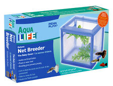 Deluxe Net Breeder, Beta  Display, Isolation, Baby Fish. Floats at Water Level