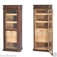 CIGAR HUMIDOR English 3000 ct Large Commercial Tower Display Classic Styling