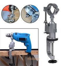 Clamp-on Grinder Holder Bench Vise Tool For Electric Drill Stand 360 Rotating