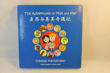 The Adventures of Max And Mei Chinese The Fun Way! Keswick Jesse CD 3 Books Kids