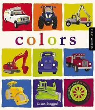 FIRST WHEELS - COLORS - NEW HARDCOVER BOOK
