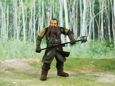 Lord of the Rings Hobbit Fellowship Middle Earth Warrior Gimli Figure K1234