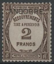 """ANDORRE FRANCAIS STAMP TIMBRE TAXE N° 14 """" 2F SEPIA """" NEUF xx SUP  K644"""