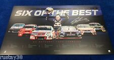 CRAIG LOWNDES SIGNED LIMITED 2015 BATHURST CHAMPION PRINT RED BULL 888 HOLDEN