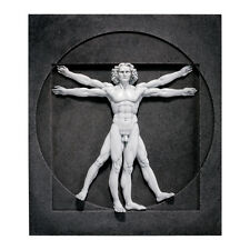 Vitruvian Man by Leonardo da Vinci Renaissance Sculpture replica reproduction