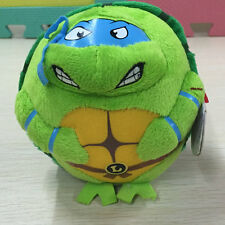 "new ty beanies ballz Ninja Turtle Leonardo 5"" stuffed animal toy PLEASE READ"