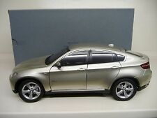 1:18 KYOSHO BMW X6 5,0i 2009 mineral silver Dealer Edition NEU NEW