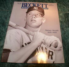 MICKEY MANTLE 1931-1995 BECKETT BASEBALL MONTHLY OCT 1995 ISSUE #127 RARE OOP