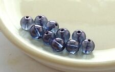 Tanzine Aura 8mm Quartz Beads 1 lot 10 beads