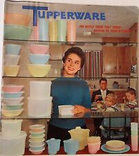VTG 1958 TUPPERWARE PRODUCT CATALOG Home Party Business RETRO MCM Kitchens