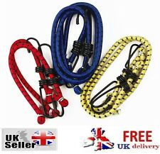 6 NEW BUNGEE STRAPS CORDS SET HOOKS ELASTICATED ROPE CORD CAR BIKE LUGGAGE STRAP