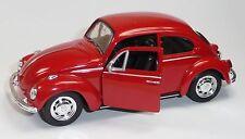günstig: VW Käfer (1960) Modellauto 1:34 Metall Spritzguss 12cm rot von WELLY