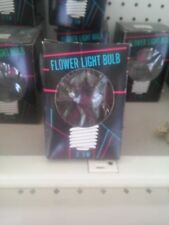 Flower Light Bulb I Love You with 3 Hearts