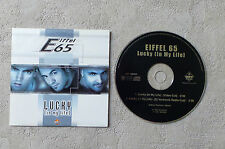 "CD AUDIO MUSIQUE INT / EIFFEL 65 ""LUCKY (IN MY LIFE)"" 2001 CD SINGLE 2T DANCE"