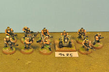 catachans jungle imperial guard 10 & heavy weapon metal (9485)