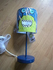 NEXT BOYS MONSTERS 3W LED TABLE LAMP  GOES BOYS bedset curtains