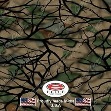 """Savage Green CAMO DECAL 3M WRAP VINYL 52""""x15"""" TRUCK PRINT REAL CAMOUFLAGE"""