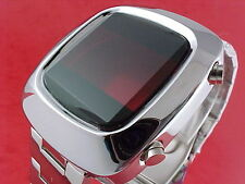 70s 1970s Vintage Style LED LCD DIGITAL Rare Retro Mens Watch 12 & 24 hour c3
