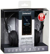 """Intenso MP3 Player video Scooter inkl. ON-EAR 8GB schwarz 1,8"""""""