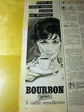 PUBBLICITA' ADVERTISING WERBUNG 1961 CAFFE' BOURBON (E560)