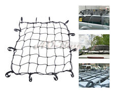 Fit For Car/SUV/Truck/Trailer Elastic Bungee Roof Cargo Rack Basket Net w/Hooks