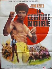 BLACK BELT JONES French Grande movie poster 47x63 JIM KELLY BLAXPLOITATION