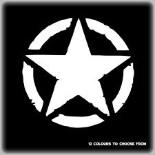 Invasion Military USA Army Star Car Laptop Vinyl Decal Sticker