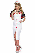 SEXY NIGHT NURSE Adult HALLOWEEN Costume Woman Size Small NEW