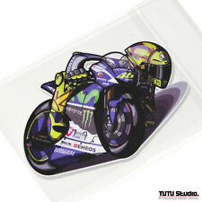 TDS Studio Premium VR46 Moto GP Professional Reflective  Rossi 100mm Sticker