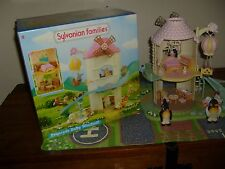 sylvanian families boxed primrose baby windmill with figures excellent condition