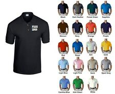 10 Custom Embroidered * FREE LOGO Dry Blend POLO SHIRTS * COACH Team SPORTS Golf