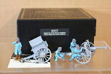 BRITAINS 8937 WWI FRENCH GUN DETACHMENT with 75mm GUN & CASSION MINT BOXED nj