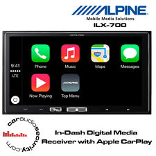 Alpine iLX-700 - In-Dash Digital Media Receiver with Apple CarPlay iPhone Stereo
