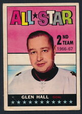 1967-68 Topps Hockey #129  Glen Hall 2nd Team All Star