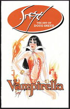 The Art of Doug Sneyd Vampirella Comic Sketch Book by Playboy Artist