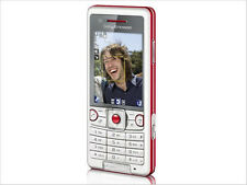 Sony Ericsson C510 white+red 3G Network Unlocked Cell Phone free shippping
