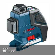 Bosch GLL2-80 Dual Plane Leveling and Alignment Laser USA Stock Genuine Product