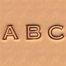 "Craftool Alphabet Stamp Set 1/4"" (0.6 cm) Open Face Item #4909-00 Tandy Leather"