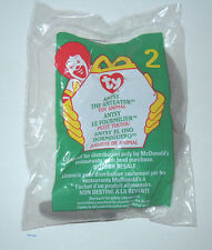 "Ty Teenie Beanie Baby McDonald's ""Antsy"" : China Made : P.E. Pellets"