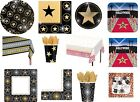 Hollywood Movie Prom Night Party Tableware Napkins Plates Cups Tablecover