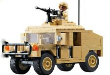 Modern War U.S. Military M1025 Humvee HMMWV Armament Cargo Troop Vehicle minifig