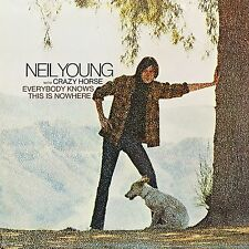 Neil Young - Everybody Knows This is Nowhere SEALED NEW! LP remastered CLASSIC!