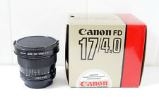 [GOOD] Canon new FD 17mm 4 (NEX, micro 4/3, MFT) - #17469
