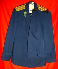 Russian Soviet Air Force Officer Parade Uniform Jacket + Shirt + Tie + Trousers
