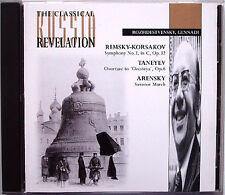 ROZHDESTVENSKY: RIMSKY-KORSAKOV Symphony 3 TANEYEV Oresteya ARENSKY Suvorov CD