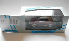 VW Käfer Beetle Cabriolet 1951/52 schwarz black Minichamps 430 052041 1:43 boxed