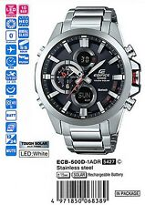 Casio ECB-500D-1AJF EDIFICE NEW! Bluetooth Watch iPhone Galaxy JP ECB-500D-1A