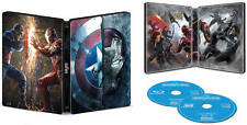 Captain America Civil War 3D + 2D Blu-ray Disc SteelBook DAMAGE +Digital Copy