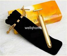 HOT SELL 24k Gold Pated Facial Massager Beauty Bar (all skin types) Japan Import